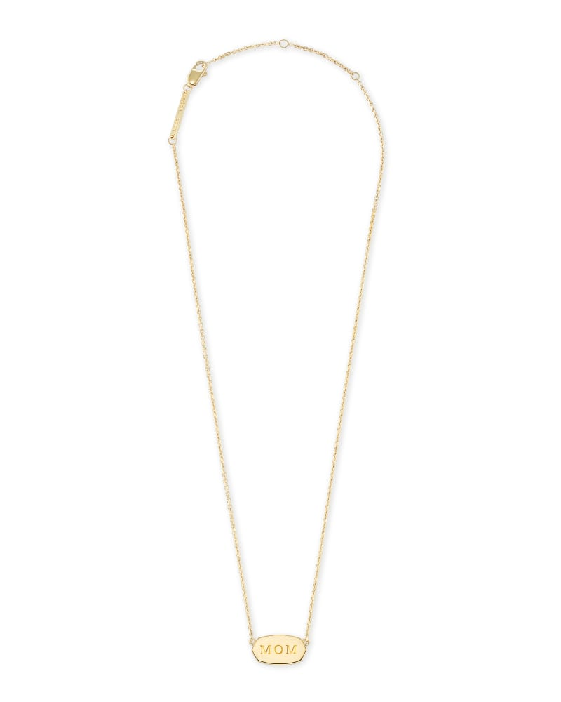 Mom Elisa Necklace in Gold Vermeil