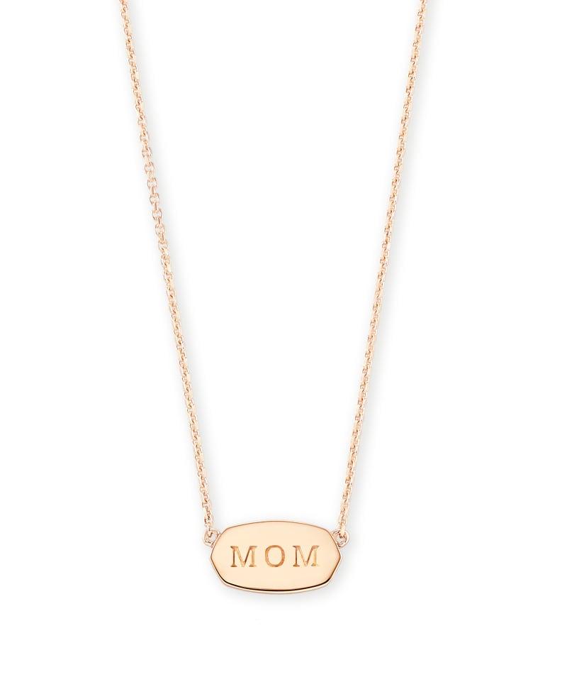 Mom Elisa Necklace in Rose Gold Vermeil