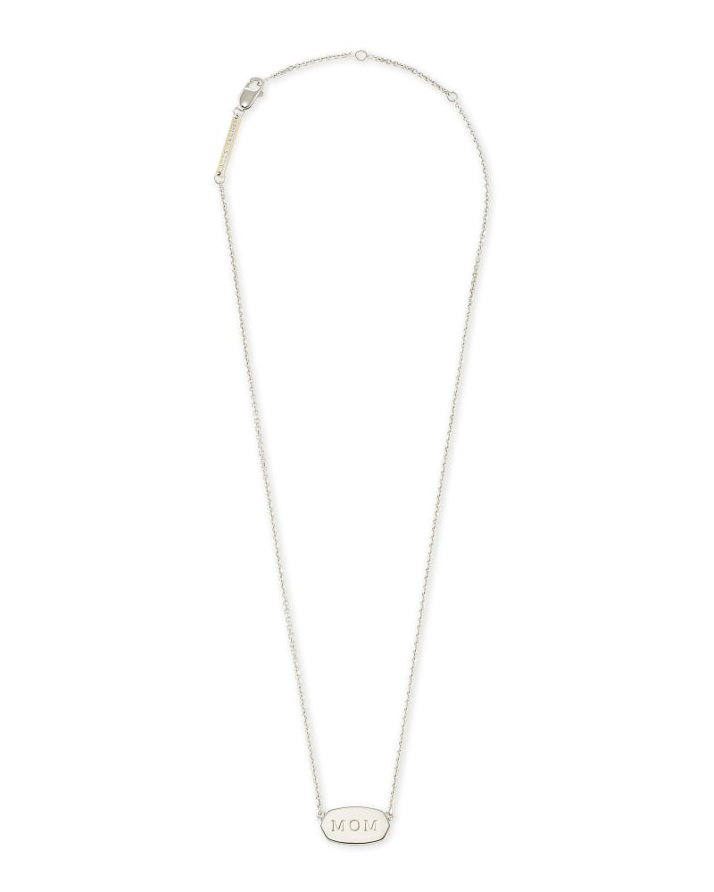 Mom Elisa Necklace in Sterling Silver