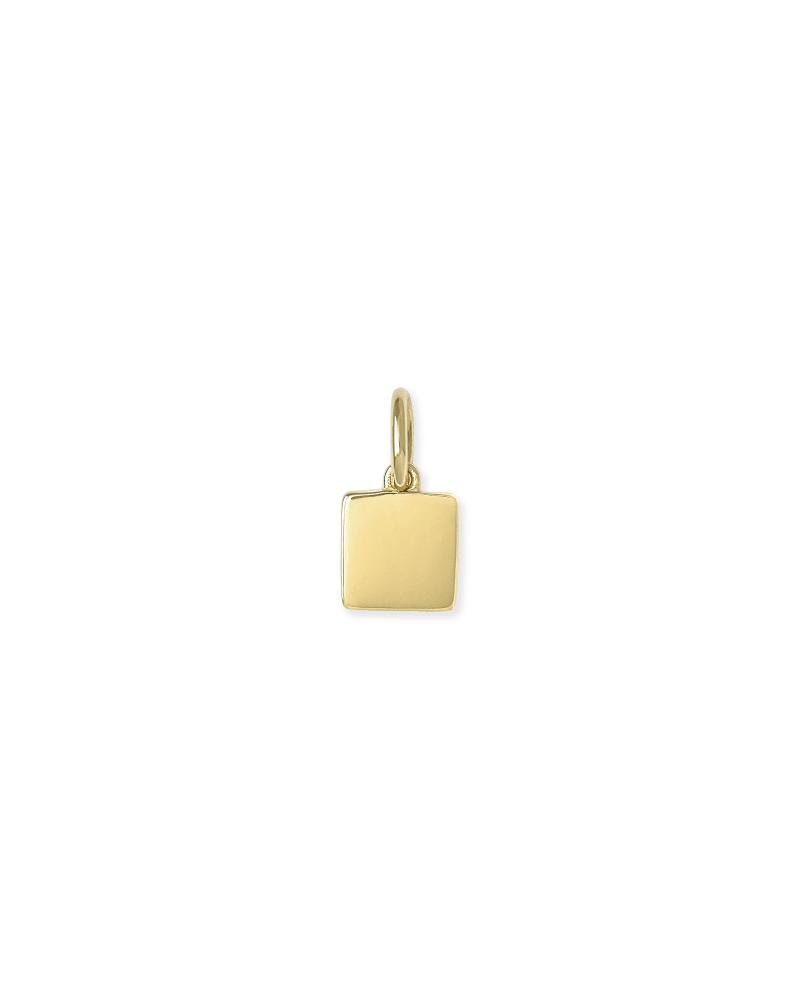 Hayes Charm in 18k Gold Vermeil