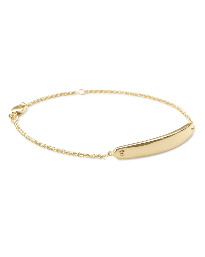 Mattie Bar Delicate Bracelet in 18k Gold Vermeil
