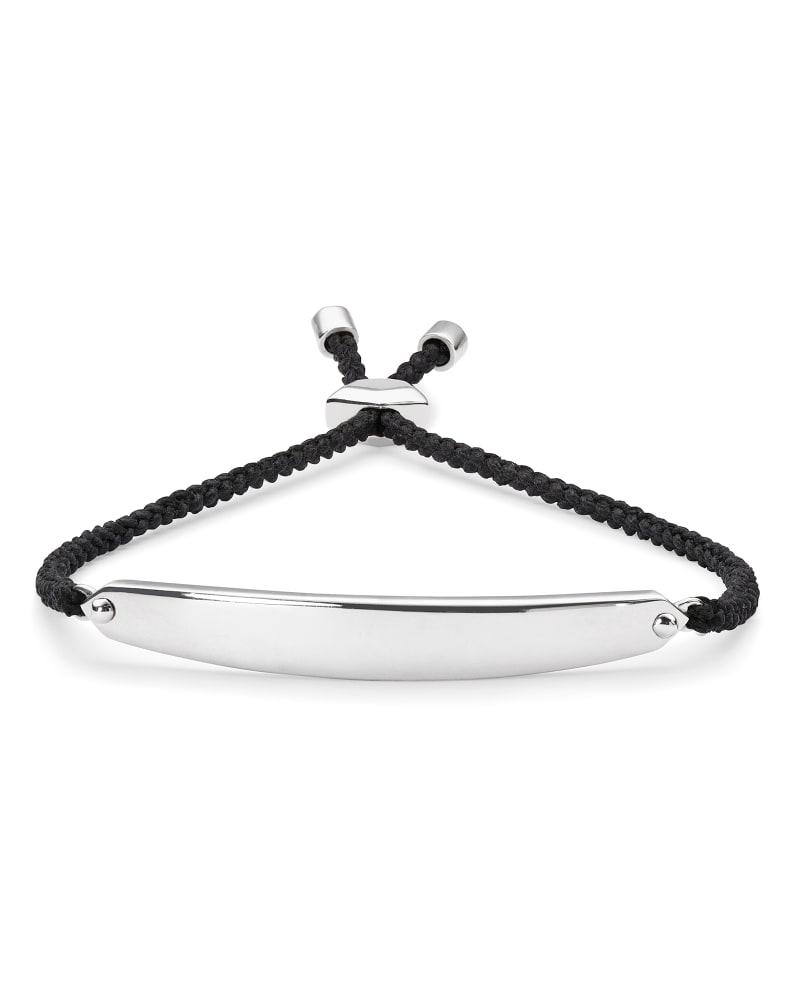 Mattie Bar Cord Bracelet in Sterling Silver