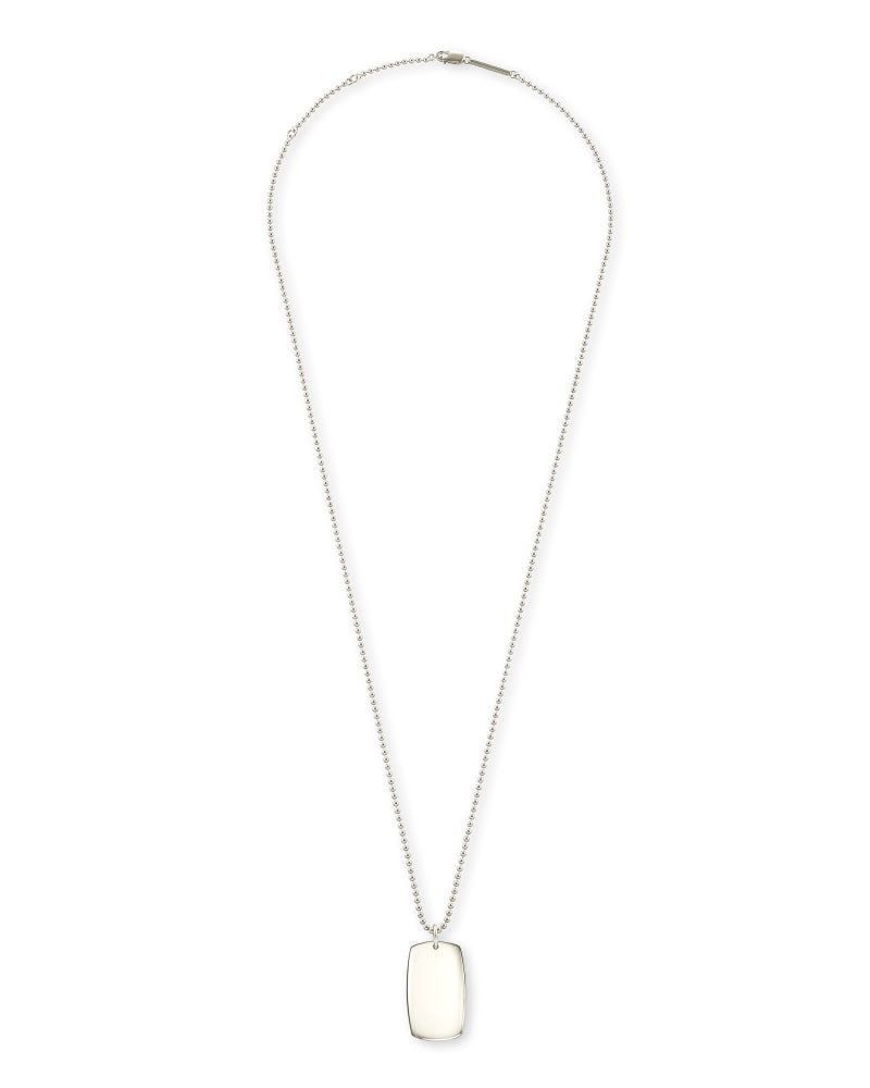 Folds Of Honor Pendant Necklace in Sterling Silver