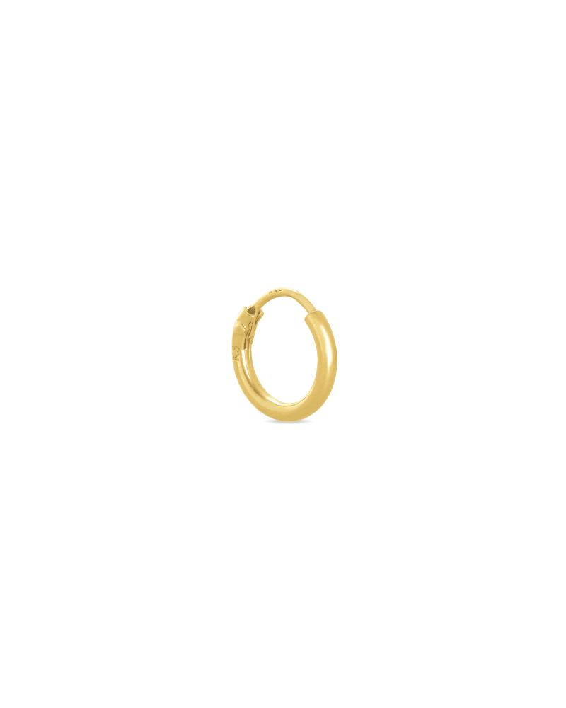 Carter Mini Hoop Earring in 18k Gold Vermeil