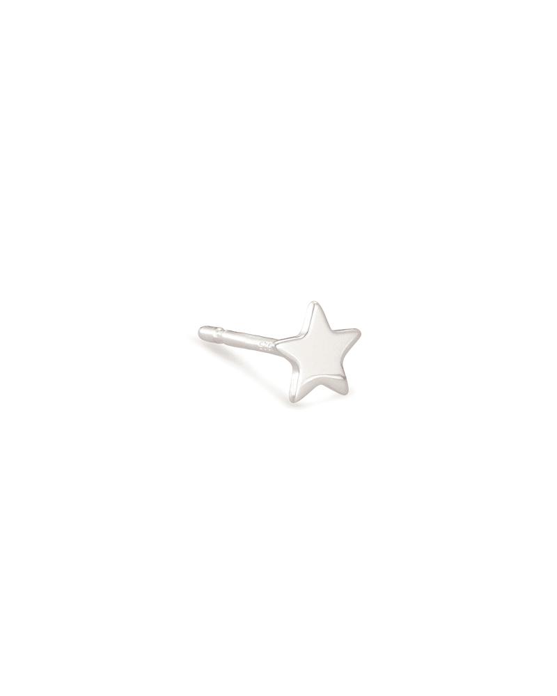 Jae Mini Stud Earring in Sterling Silver