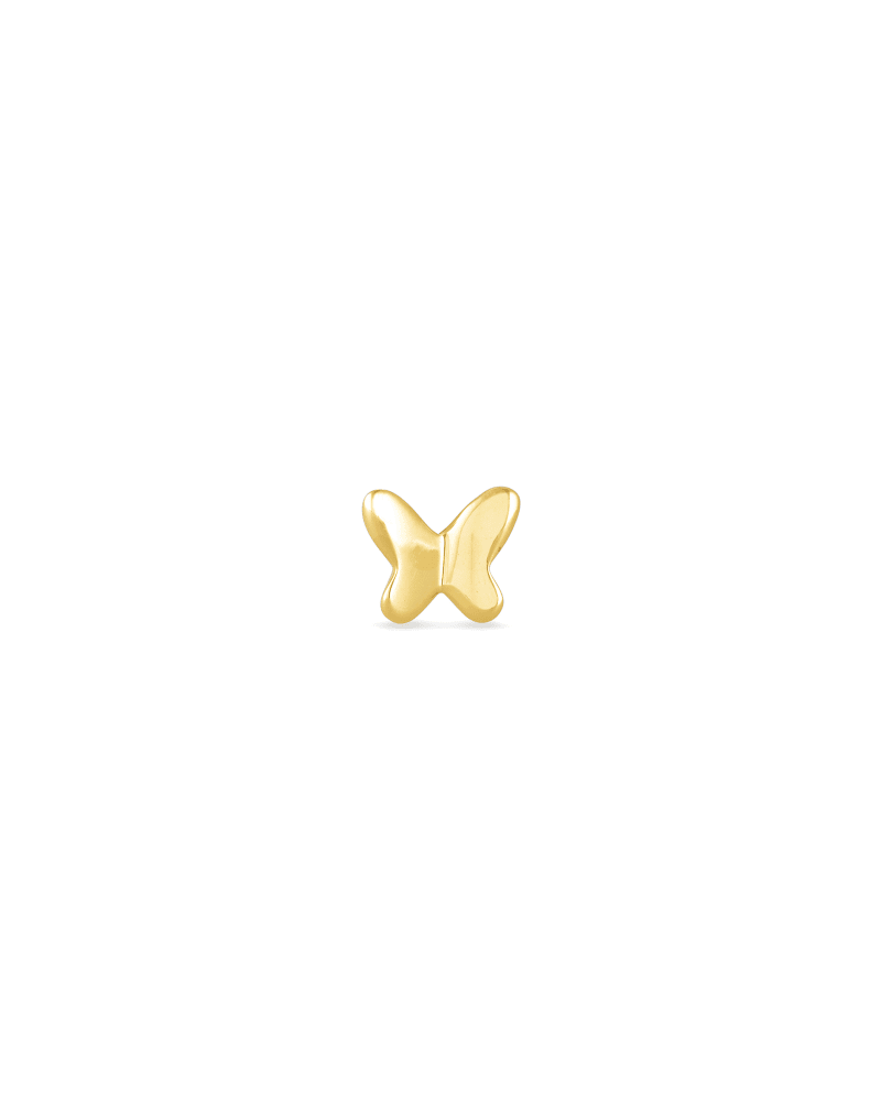 Lillia Mini Stud Earring in 18k Gold Vermeil