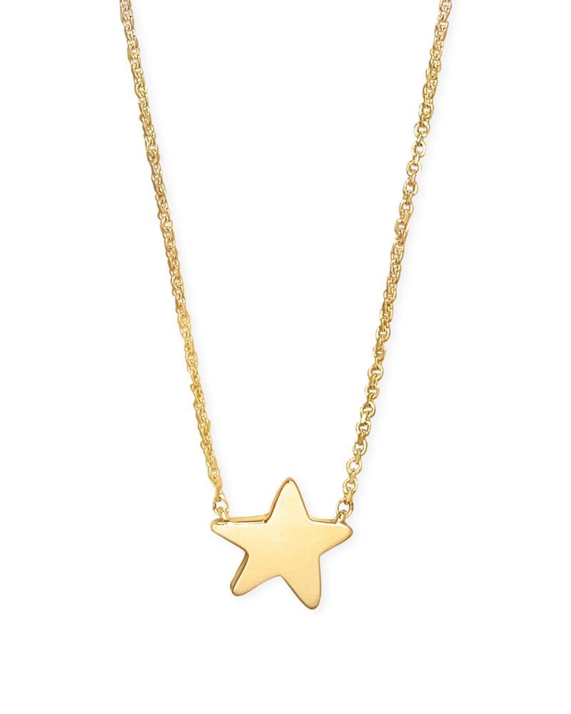 Jae Star Pendant Necklace in 18k Gold Vermeil
