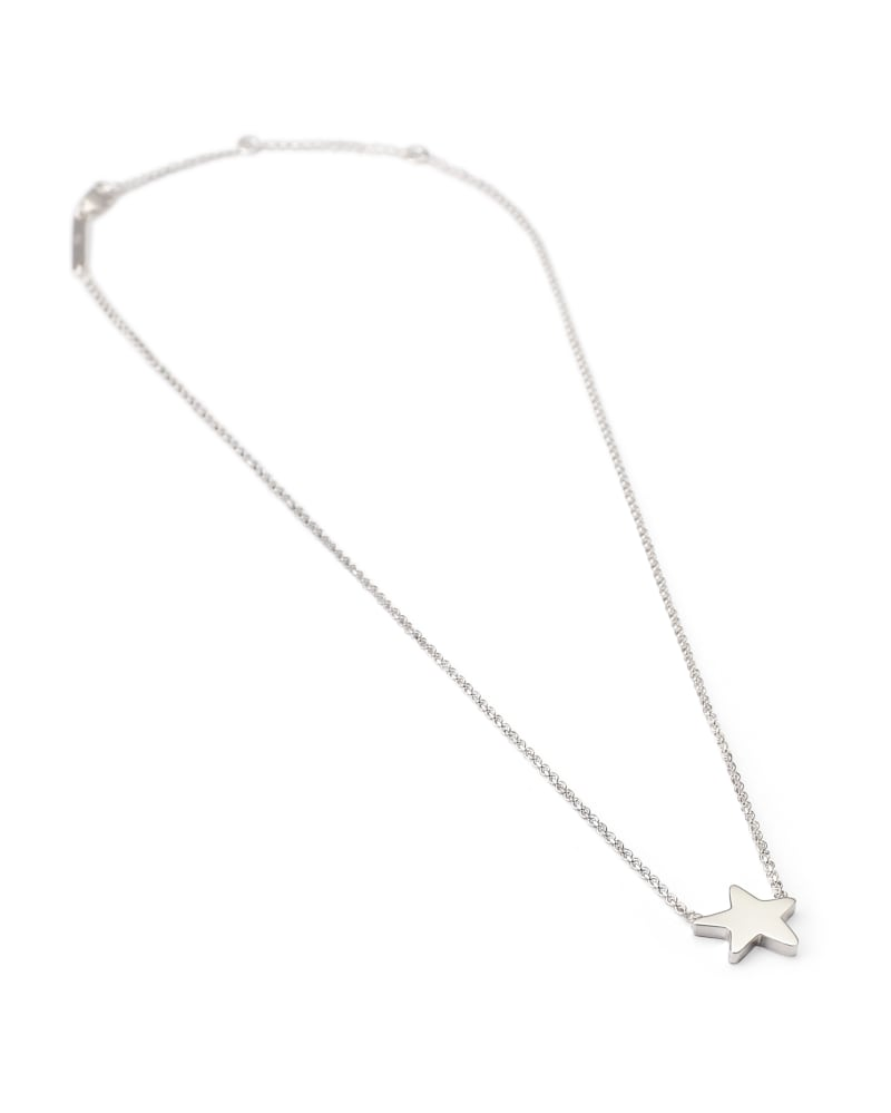 Jae Star Pendant Necklace in Sterling Silver