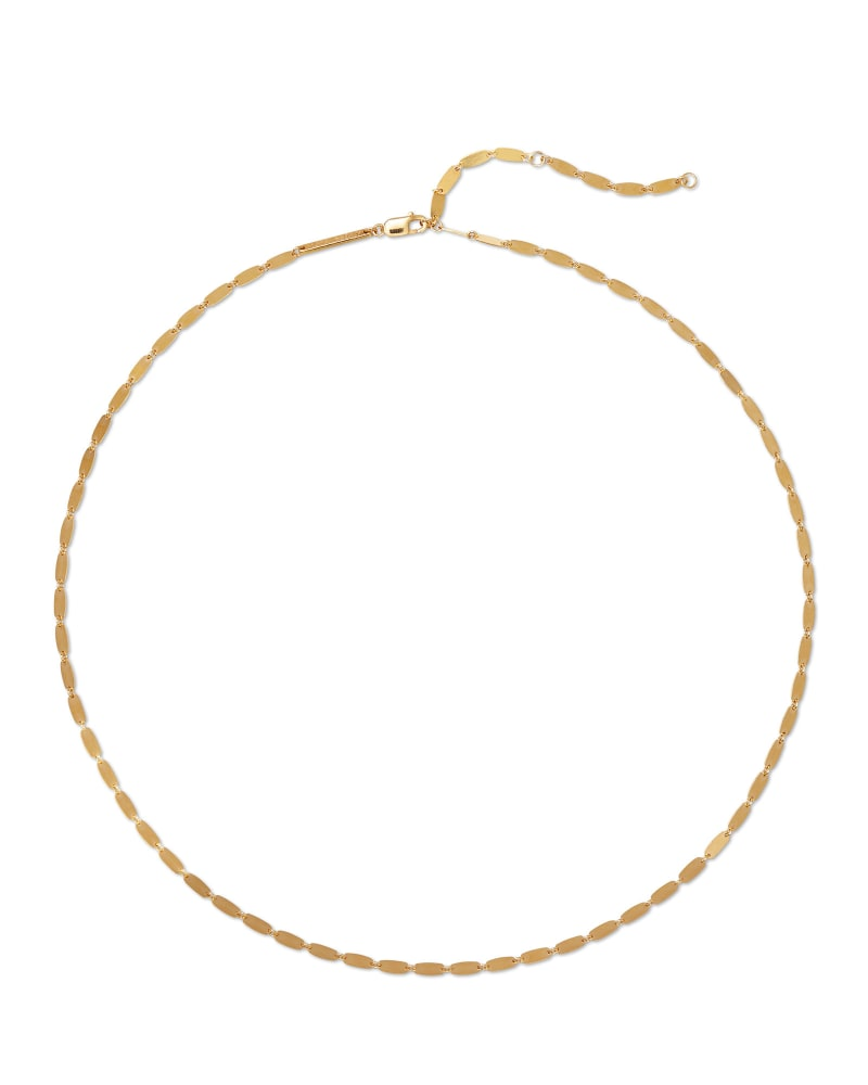 Danielle Strand Necklace in 18k Yellow Gold Vermeil