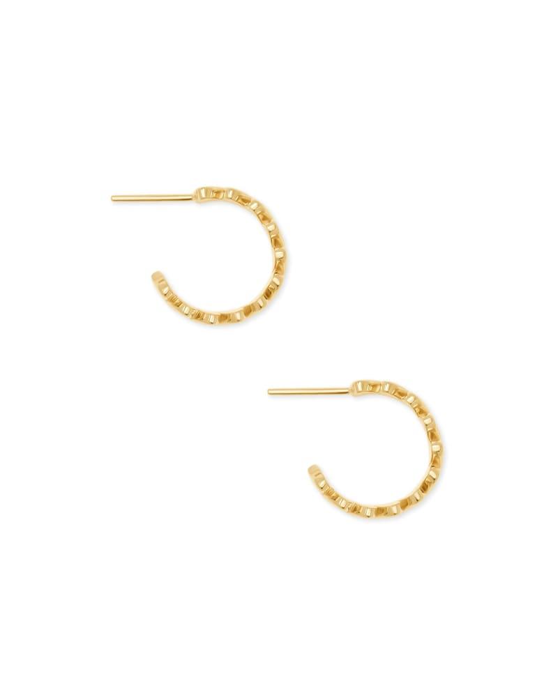 Angie Hoop Earrings in 18k Yellow Gold Vermeil