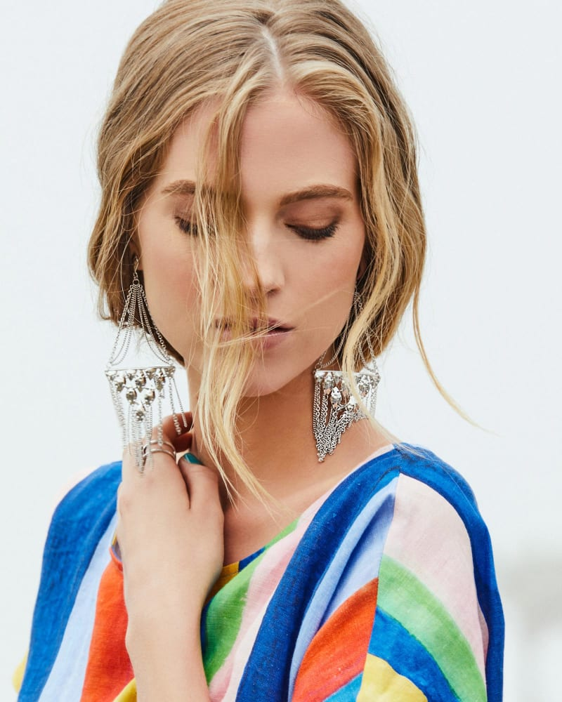 Mandy Chandelier Earrings
