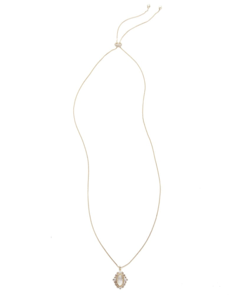 Kay Pendant Necklace in Gold