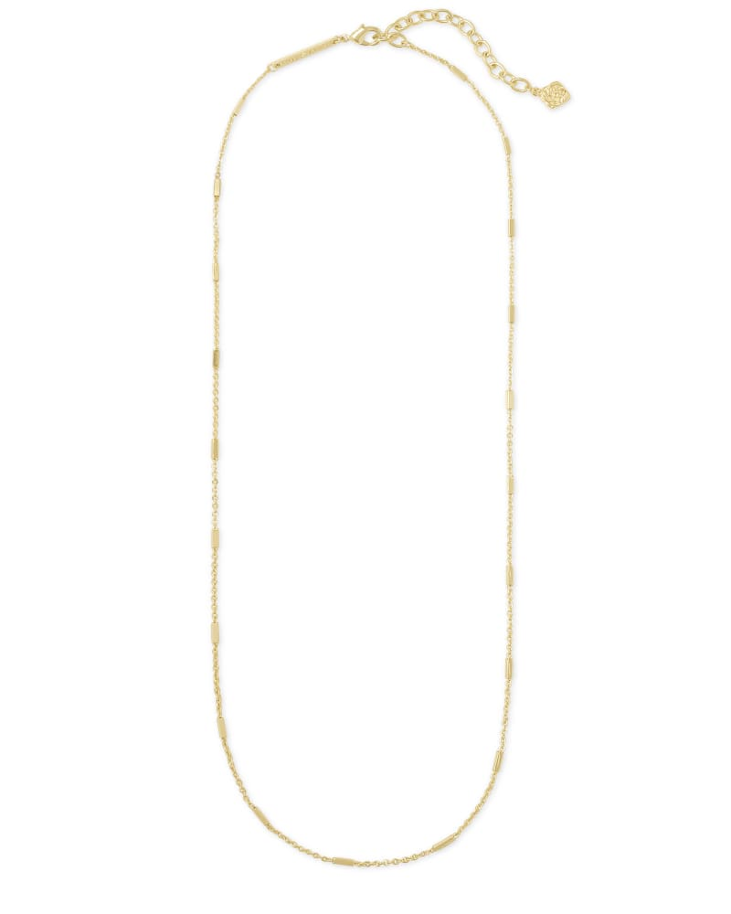 Fern Chain Necklace in Gold