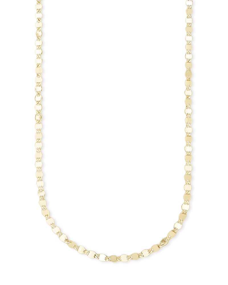 Kyler Chain Necklace in Gold