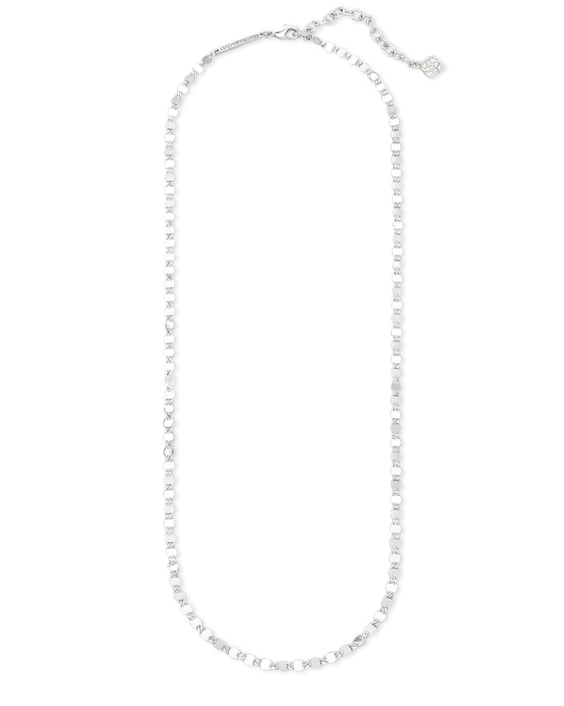 Kyler Chain Necklace in Silver