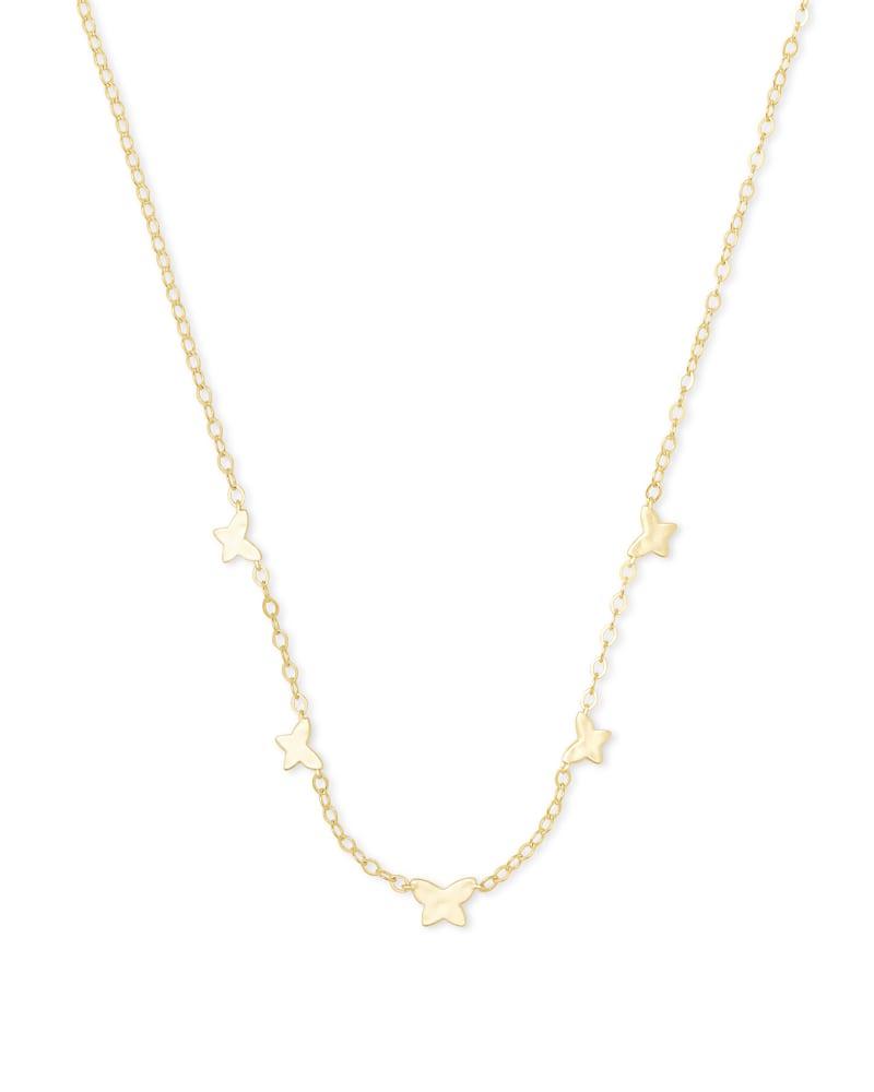 Lillia Butterfly Strand Necklace in Gold | Kendra Scott | Kendra Scott