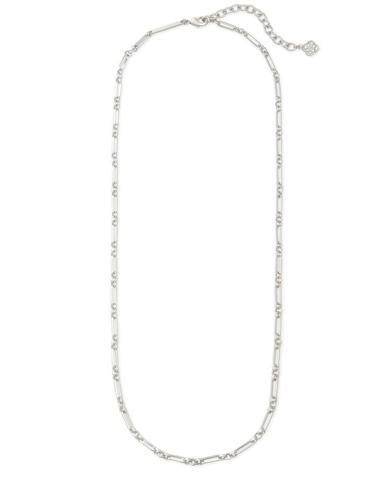 Samuel Chain Necklace in Silver
