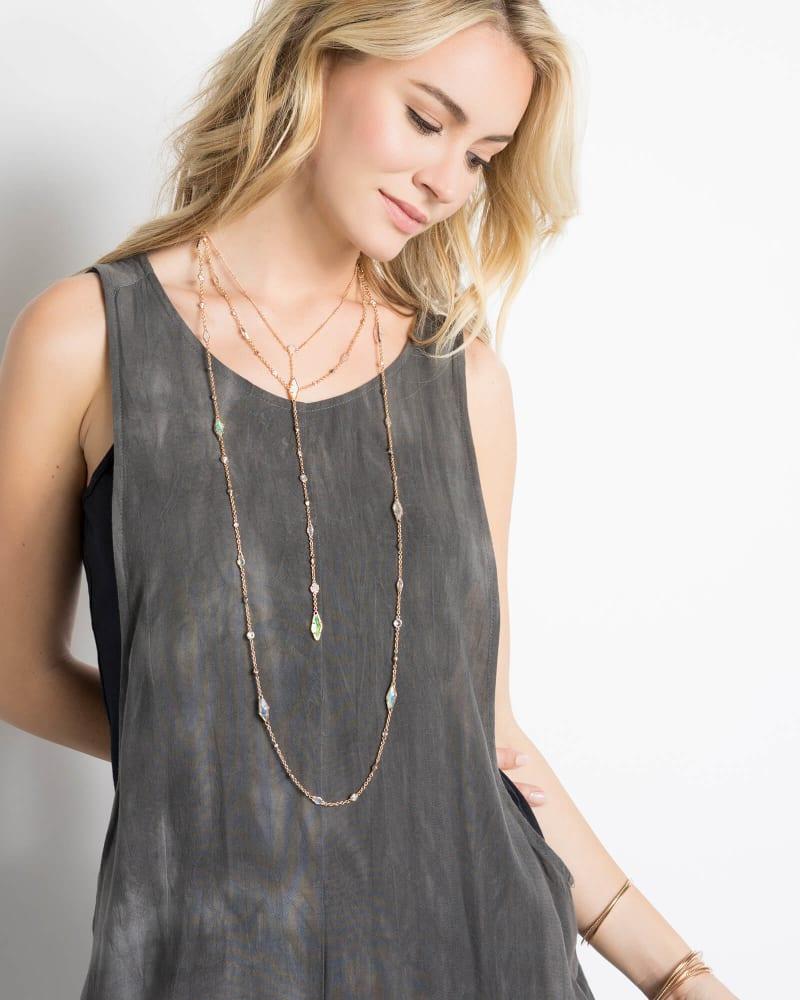 Krista Lariat Necklace in Radiant
