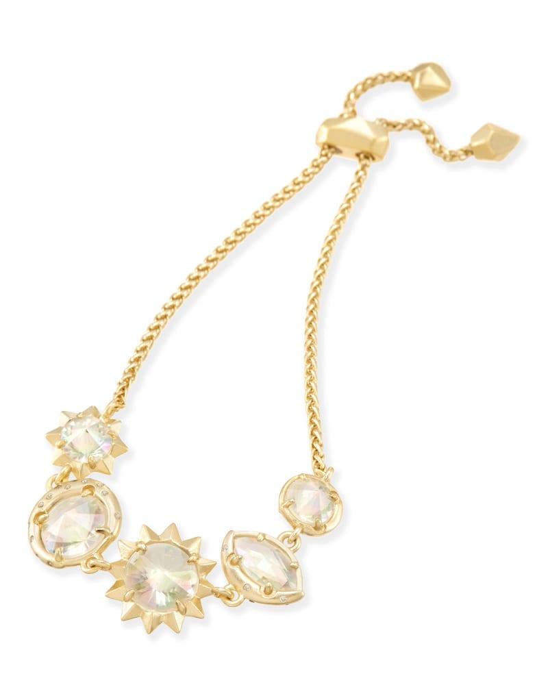 Jodie Adjustable Chain Bracelet in Gold