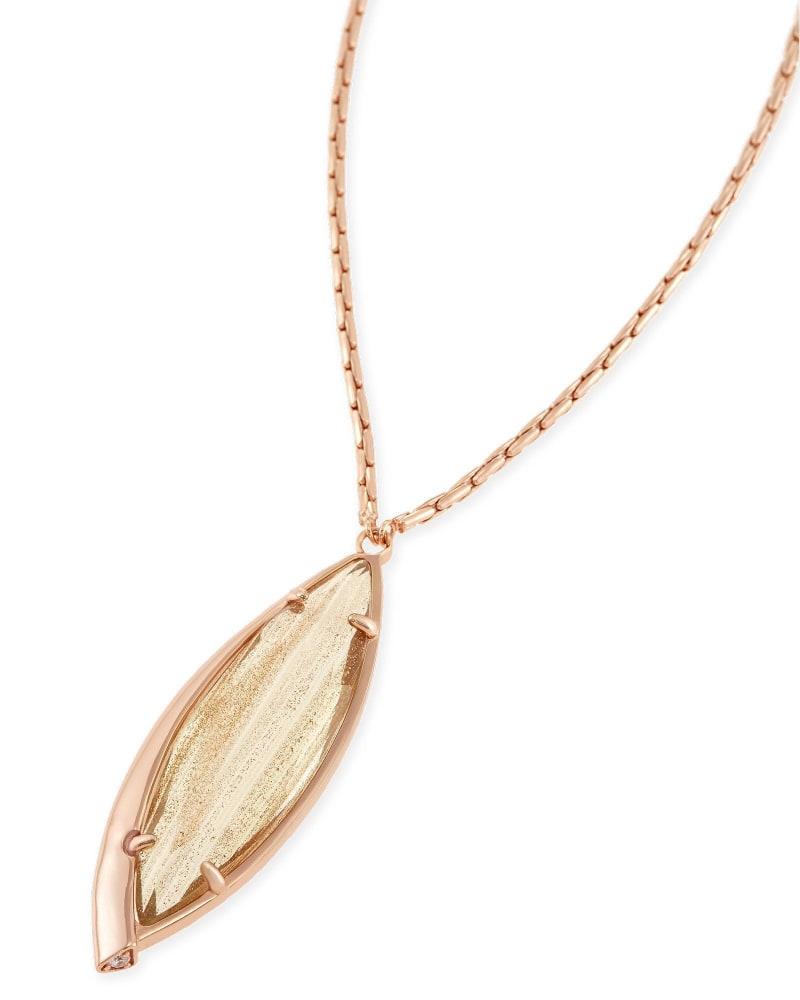 Milla Long Pendant Necklace