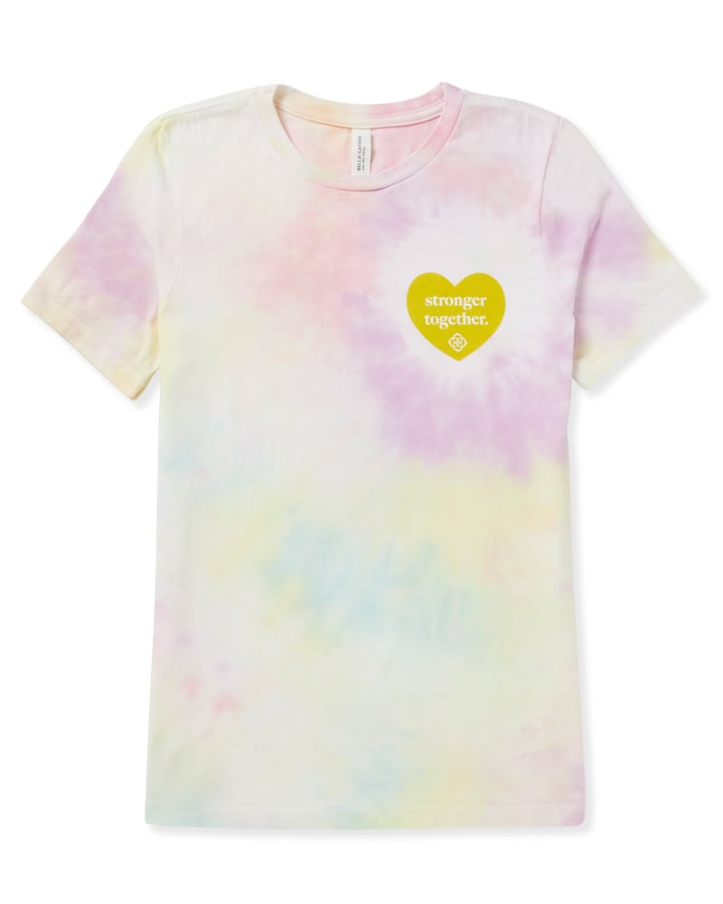 Women's Stronger Together T-Shirt in Tie Dye