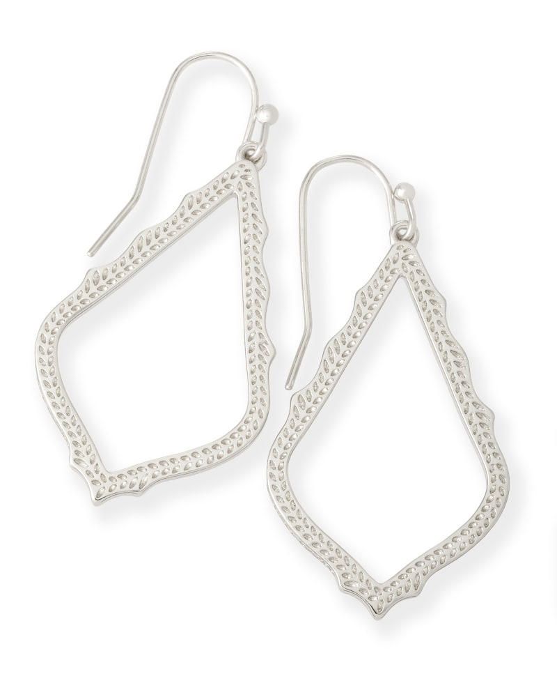 Sophia Drop Earrings in Silver