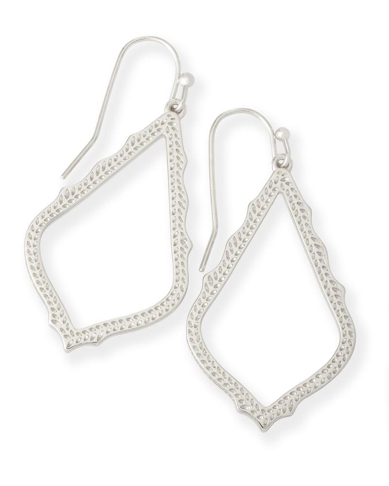 Sophia Drop Earrings in Silver