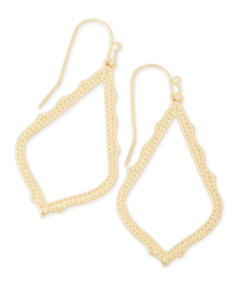 Sophia Drop Earrings in Gold   Kendra Scott