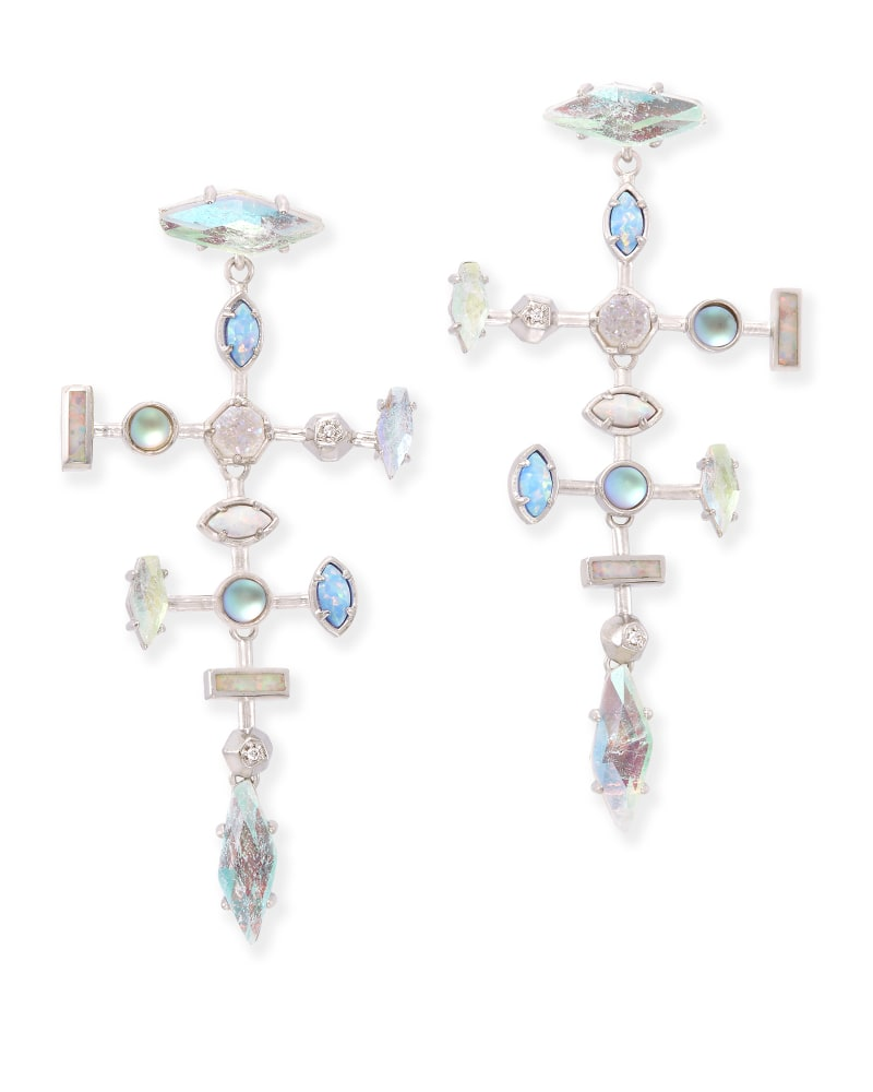 Teagan Statement Earrings in Tranquil