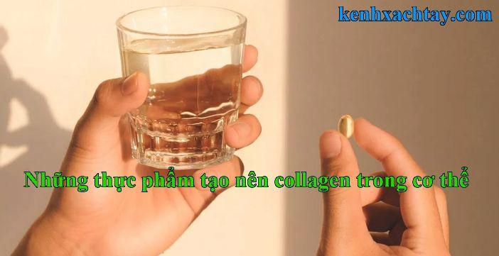 Uống collagen có hại thận không