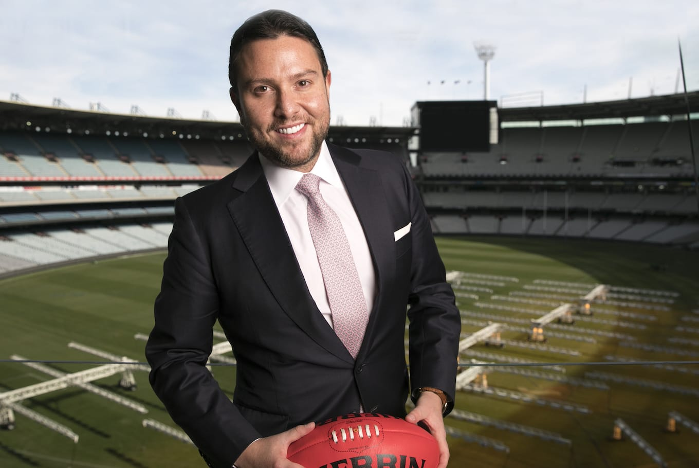 Kennedy Celebrates Partnership with AFL China Game