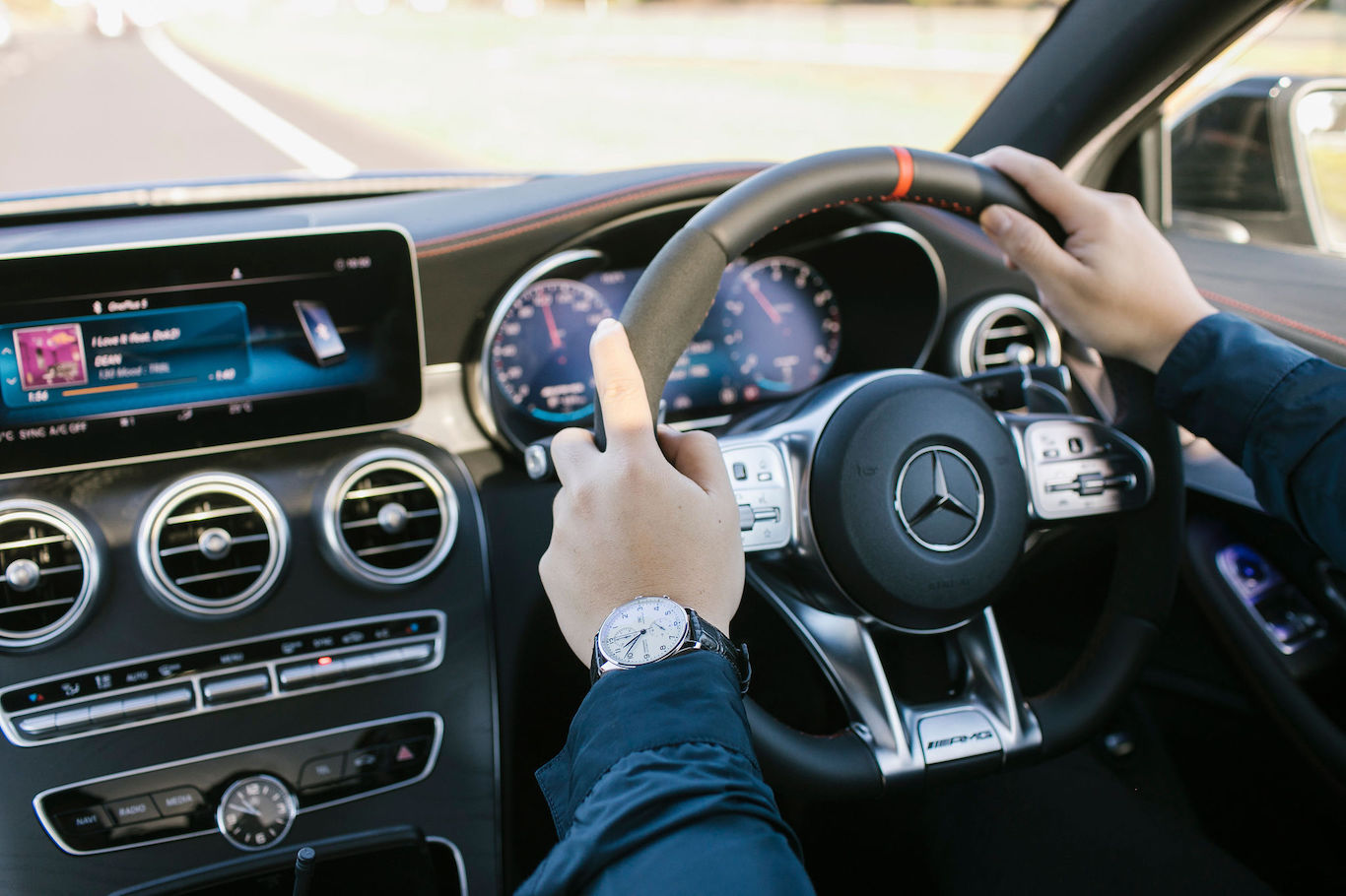 IWC x Mercedes AMG Drive Day