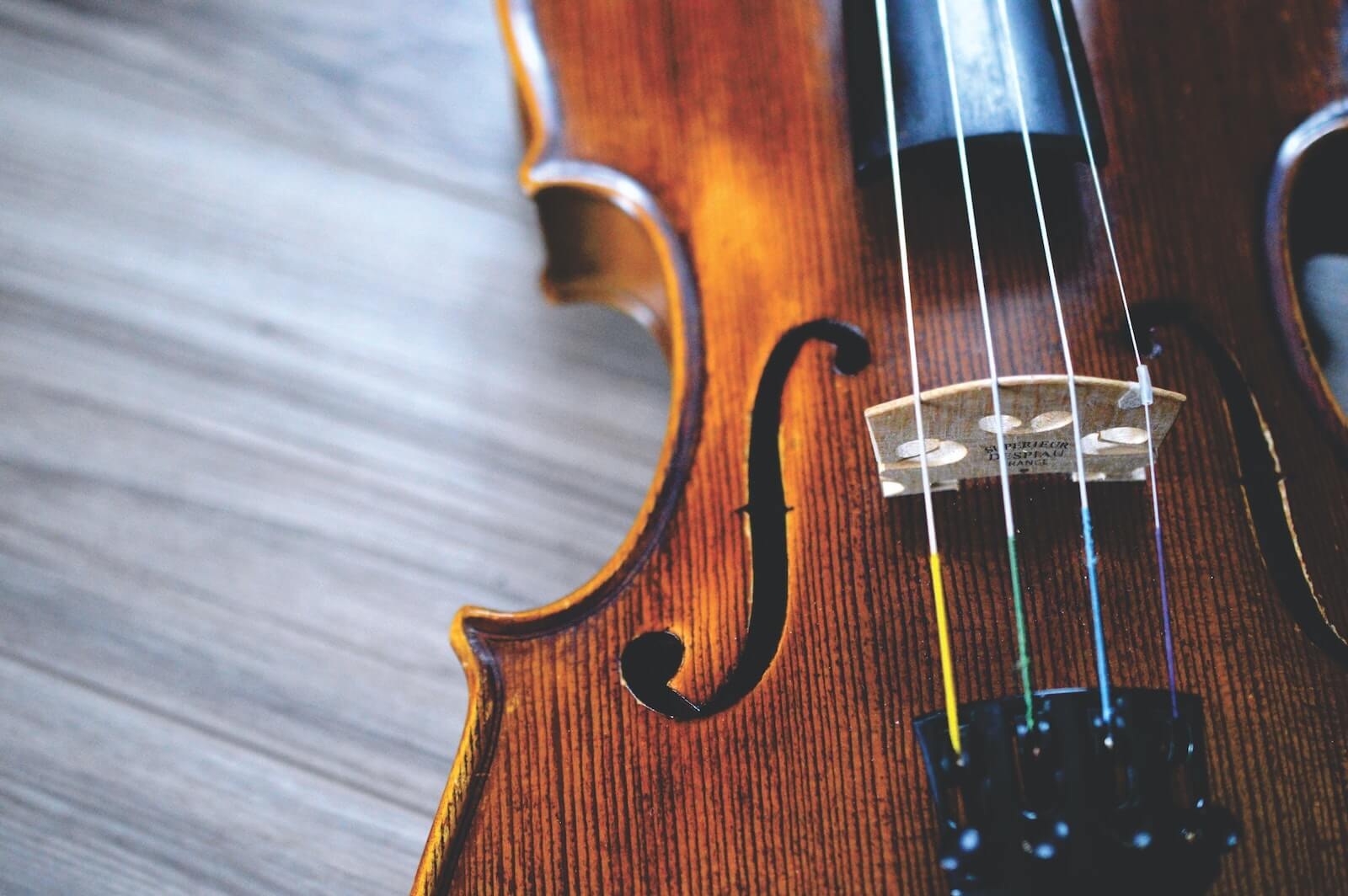 Photo of a Violin by Providence Doucet