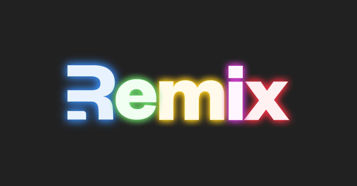 Remix logo