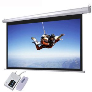 Electric Projector Screens 96 by 96