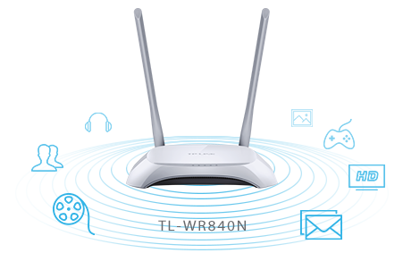 TL-WR840N 300MBPS Tp-link WiFi Router