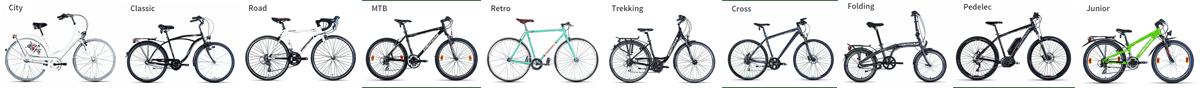 Gepida kerékpárok - Bácsalmás