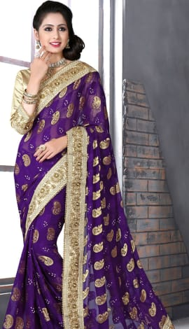 Bagni Bhagalpuri Silk Heavy Resam Saree