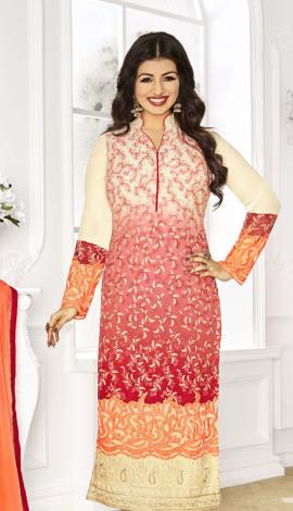 Multi Georgette Salwar Kameez