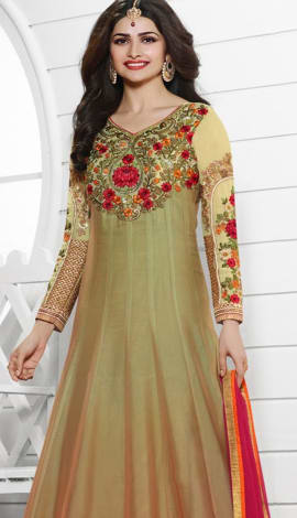 Golden Georttee Salwar Kameez