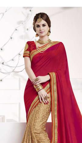 Pink , Beige Softr  Silk , Silk Jacquard Saree