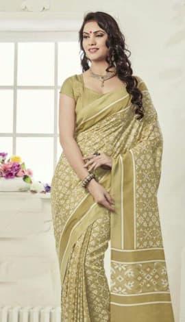 Multi Fancy Art Silk Saree