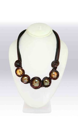 Brown Imported Stone Jewellery