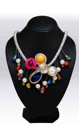 Multi Pearl And Beeds Jewellery