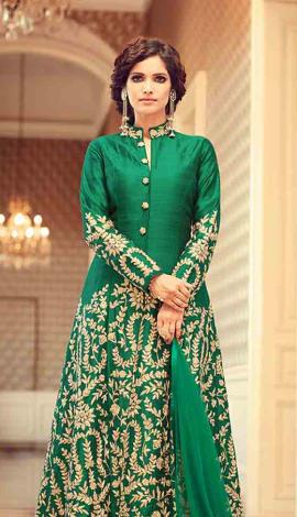 2395 Art Silk Salwar Kameez