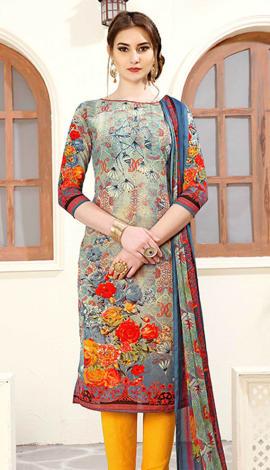 Multi Cotton Salwar Kameez