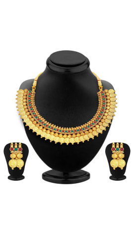 Gold Alloy-Gold Plated Jewellery