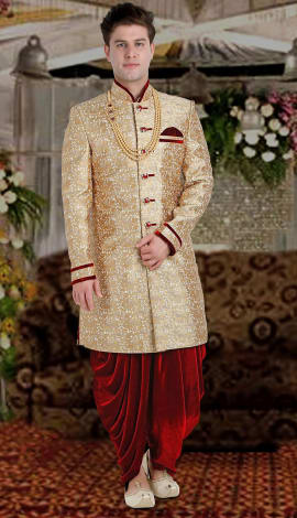 Gold Brocade Men