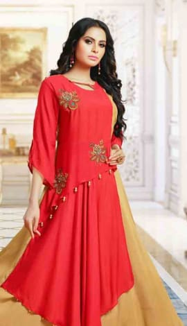 Red Silk Gowns