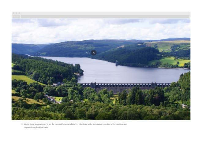 An example of how an image which is being viewed full screen should be rendered on the site.